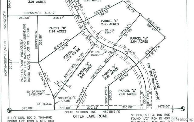 0 Folsom Lane Rd, Otter Lake, 48464, MI - Photo 1 of 1
