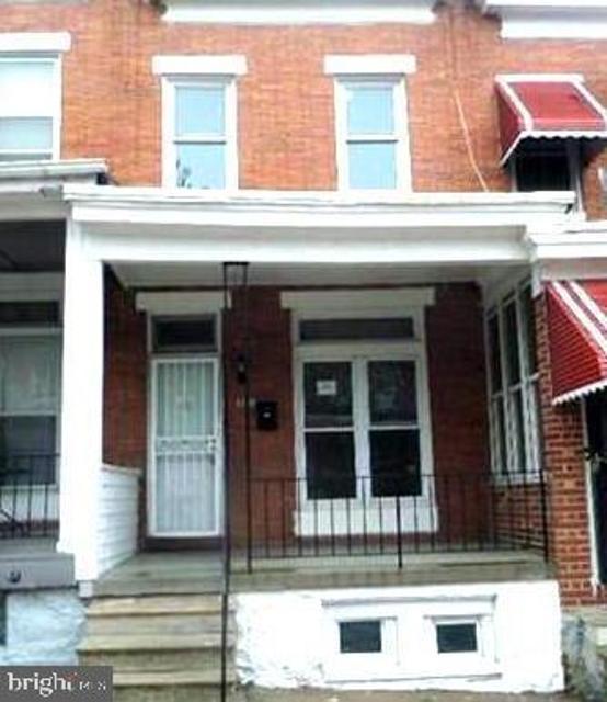 2039 Bentalou, Baltimore, 21216, MD - Photo 1 of 1